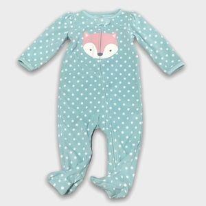4/$20🥳 Fleece Simple Joys Polkadot Fox Sleeper